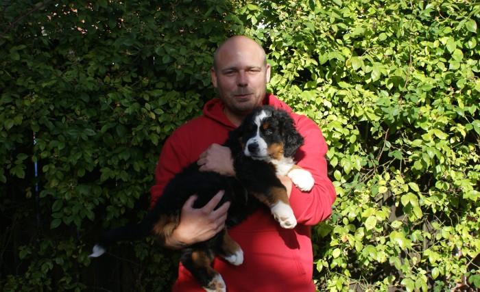 Morten henter Radagast 03.09.2015